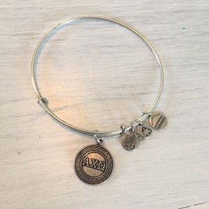 Alex and Ani sorority bracelet